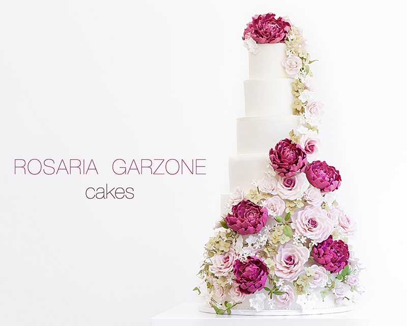 in Rome Rosaria Garzone Cakes designer of couture celebration cakes